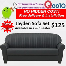 Furniture sofa sales!3 or 2 seater SYN LEATHER JAYDEN SOFA!Free delivery+installation
