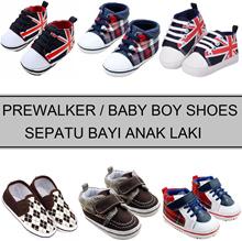 Baby Boy Shoes Prewalker ██ Sepatu Bayi Laki 0-18 Bulan ██ Keren Murah Nyaman