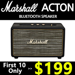 🔥 First 10 Only - $199!!  🔥 Marshall Acton Wireless Bluetooth Speaker/ Kilburn
