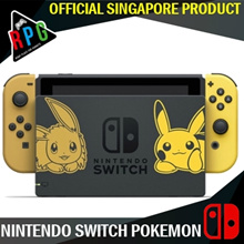 [Finally 5Qty Local Set !!!] Nintendo Switch Console System 1 Year Local Warranty #Pokemon lets Go