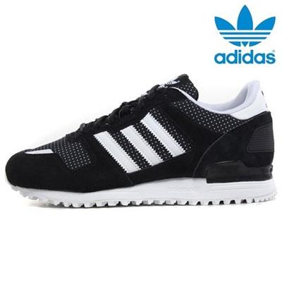 4bc0089210c Most Popular c115 ☆ Adidas ZX700 Black White (M19419) ♥ Fashion sneakers