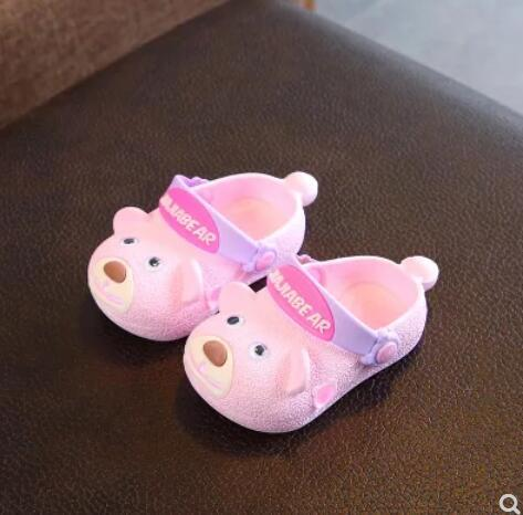 835fb2d9b7 Qoo10 - Hole shoes childrens slippers summer girls baby slippers men ...