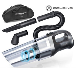 FOURING Pro Cyclone Handy Vacuum Cleaner for Car/ Handy Vacuum Cleaner /12V /150W