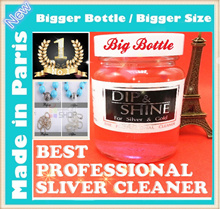 ★Big Bottle★ Silver Polish Dip and Shine ★Big Bottle★ silver cleaner for Sterling 925 silver