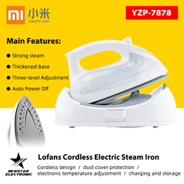 Xiaomi Lofans YZP-7878 Cordless Electric Steam Iron /Portable Clothes Brushes Wrinkle Sterilization