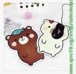 Cute Cartoon Bear Cartoon Mouse Pad Mouse Pad Mouse Pad Slip 4 Cute Shops