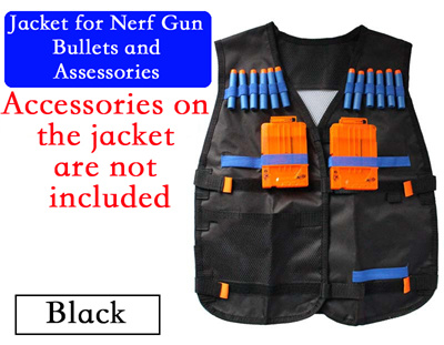 Jacket for Nerf Gun Bullets and Assessories/2 Colours available