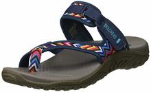 Skechers Womens Reggae-Zig Swag Sandals Flip-Flop