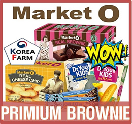 ★SPECIAL SALE★ [ORION] Market O REAL BROWNIE cheese chip chocolate matcha made in KOREA best selling