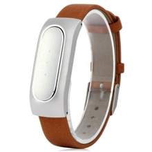 Xiaomi Miband Bluetooth 4.0 Smart Bracelet Genuine Leather Wristband IP67 Unlock Phone Sleep Sports Tracking Calls Reminder