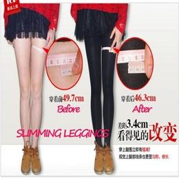 Compression Stockings Slimming Leggings No Diet / Magic Socks - 580D