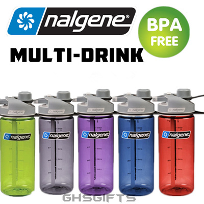 bf985d56e3 Nalgene Water Bottle/Multi-Drink/BPA Free/550ml/Original Made in