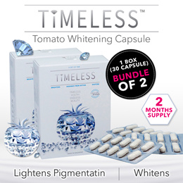 [Apply Qoo10 Coupon] 2 Mth Supply Timeless Tomato Whitening 60 Capsule **FREE DELIVERY**