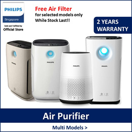 Philips AC0820/DE5205/AC2882/AC2887 Air purifier/Dehumidified (Free filter while stock last)