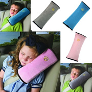 Baby Children Safety Strap Car Seat Belts Pillow Shoulder Protection Comfortable Soft Cushion Headre