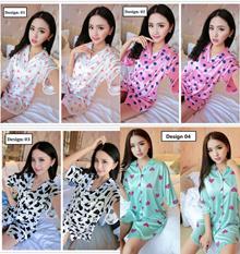 VIRENE READY STOCK Wholesale 4 DESIGNS Korean Fashion Sexy Lingerie / Sleepwear / Night Wear