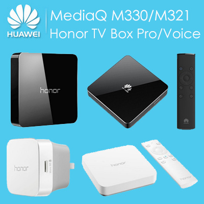 【In Stock】Original Huawei Android TV Box MediaQ M330/M321/Honor TV Box  Pro/Voice Network Quad-Core 1GB/2GB RAM 4GB/8GB ROM eMMC Bluetooth 5 1 4K