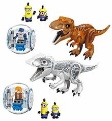 [iroiro] [Trademark pending] Fantoy Fantoy India Minas Tyrannosaurus Dinosaur figure two large body transport agency Miniature 2 body SWAT Miniature 1 body 5 body set