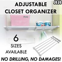 ★Adjustable Closet Organizer Rack ★Shelf ★Storage ★Wardrobe ★Kitchen ★Divider ★Cabinet
