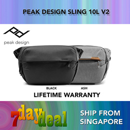 Peak Design Everyday Sling 10L V2 (Ash : BEDS-10-AS-2 / Black : BEDS-10-BK-2)