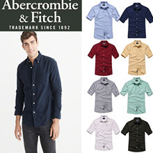 [Abercromble n Fitch] Icon Oxford Shirt / Long Sleeve Business Shirts/Cotton Men Shirts/Slim Cut