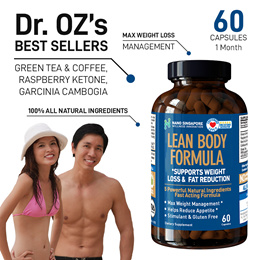 Lean Body Formula [5 Powerful Ingredients] - Max Diet Weight Loss ♥ Slimming ♥ Detox ♥ Fat Burner