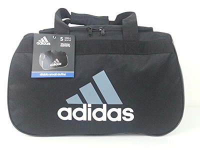 524b4f4598ca  ADIDAS  Sports Diablo Duffel Bag Small Gym Sack Travel Gear Tote  (Traditional Black
