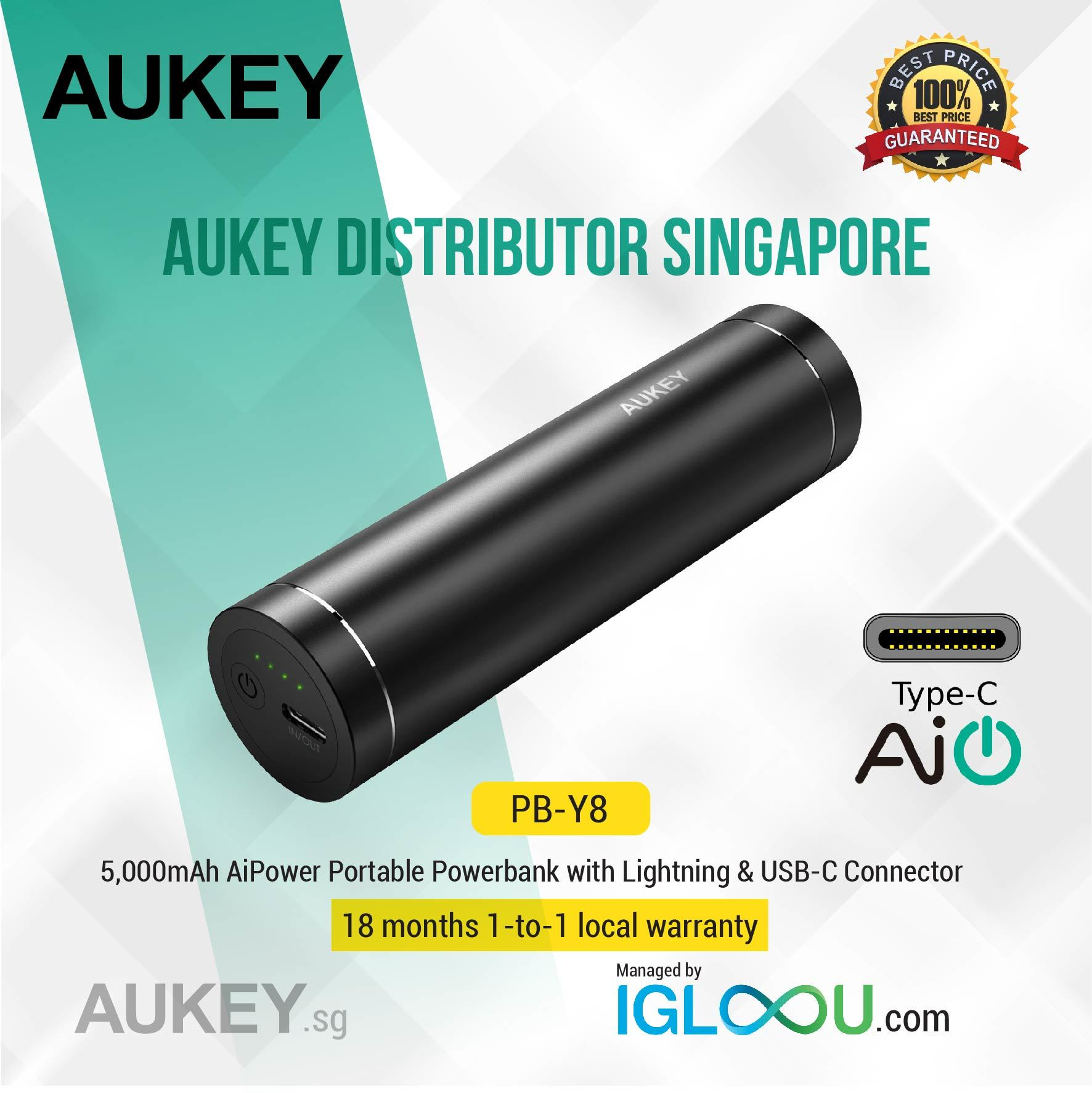Qoo10 Pb Y8 Aukey Mobile Accessories Cb Cd5 Cable 1m Usb C To Quick Charge 30 Braided Nylon Show All Item Images Close Actual Size Prev Next 5000mah