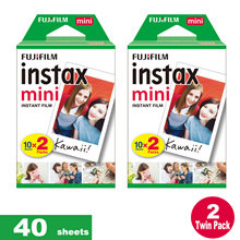 ♥♥ [CHEAPER OPTION!]♥♥Fujifilm Instax Mini Plain film♥ 40 SHEETS Bundle Polaroid instant film 7s 8