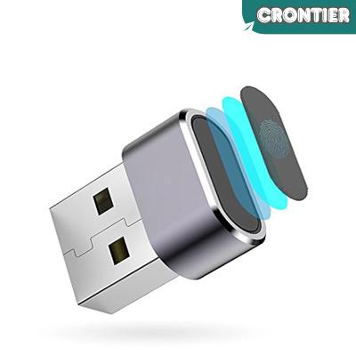 [CRONTIER] Ai150 fingerprint encryptor computer file encryption unlock  Hello recognition USB login