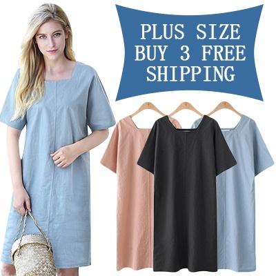 49cbae12e36  BUY 3 FREE SHIPPING  2018 UK STYLE NEW PLUS SIZE FASHION LADY DRESS blouse