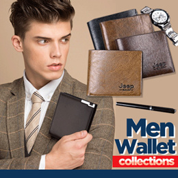 BEST SELLER - Mens Wallet Collection - Import Quality - 4 Models
