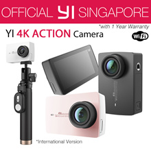 [Official XiaoYi SG]★International Version XiaoYi YI 4K/New 4K+ Action Camera - 4k Action Camera