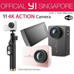 [Official XiaoYi SG]☆International Version XiaoYi YI 4K/New 4K+ Action Camera