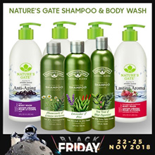 【FLASH DEAL for SHAMPOO + CONDITIONER】100% AUTHENTIC**[Natures Gate]