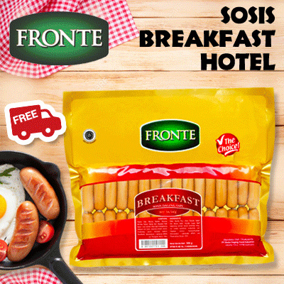 Sosis Fronte Breakfast Hotel 1KG Deals for only Rp125.000 instead of Rp125.000