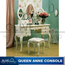 Queen Anne Meja Rias Konsol set.