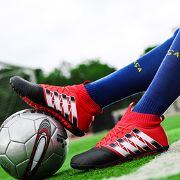 sale Mens Soccer Shoes TF Futsal Hard Court Turf Football Boots Indoor Sock  Cleats Trainer Cheap a39c9bf91097f