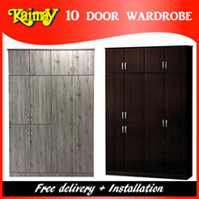 KM278 10 Door wardrobe ( The perfect wardrobe for the Family )
