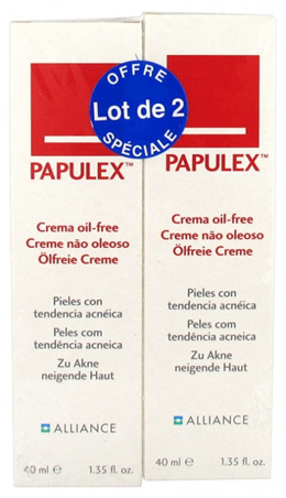 Papulex Oil-Free Cream 2 x 40ml Twin Pack Offer. Store Price: $26!
