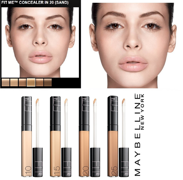 Maybelline Fit Me Concealer Ready stock 5 shades Deals for only Rp105.000 instead of Rp105.000