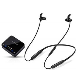 Avantree HT4186 Wireless Headphones Earbuds for TV Watching, Neckband Earphones Hearing Set w/ Bl...