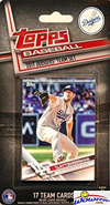 images  5 Los Angeles Dodgers 2017 Topps Baseball EXCLUSIVE Special Limited  Edition 17 Card Complete Team S. 35b8c0a480b