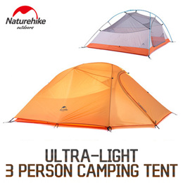 Naturehike 3 Person Ultra-Light Camping tent NH15T003-T / Easy / Rainproof / Outdoor / Camping
