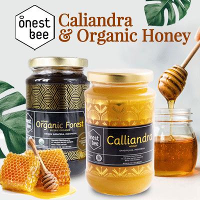 OnestBee Calliandra Honey 475gr- Madu Murni Organic Calliandra Deals for only Rp85.000 instead of Rp149.123
