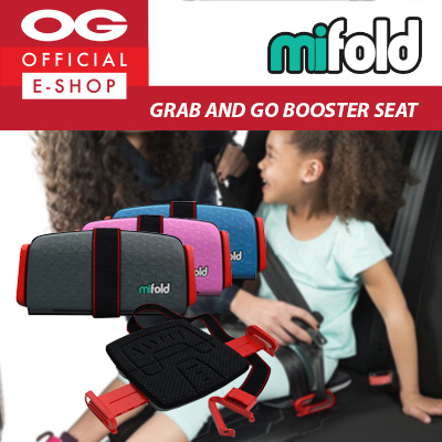 ab23c818046b Qoo10 - Mifold  Grab and Go Booster Seat Foldable Children Car Seat ...