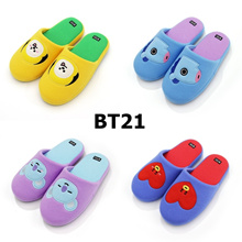 BT21 Characters Indoor Shoes Slippers 26cm /Wool 100%/ MangtataChimmyKoya