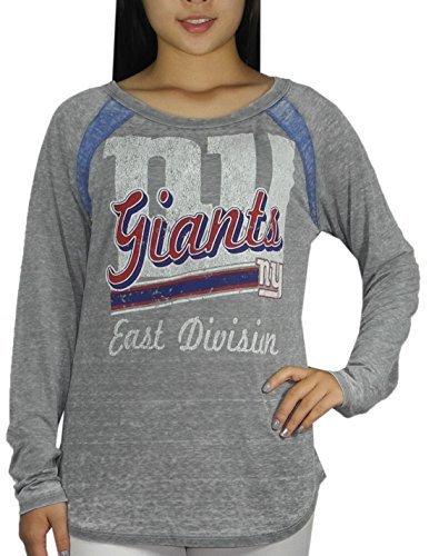 407e3d8f260 Qoo10 -  NFL  NEW YORK GIANTS Womens Crew-Neck Long Sleeve T Shirt ...