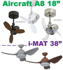 ELMARK Aircraft A8 18 Acrylic Blade / Aircraft 18 Wooden Blade / AC Motor /i-MAT 38 / DC Motor /