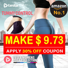 [TESLA]★[MAKE $9.73]★ YOGA PANTS Leggings/Sports Wear/Capri Long Pants/Short Pants